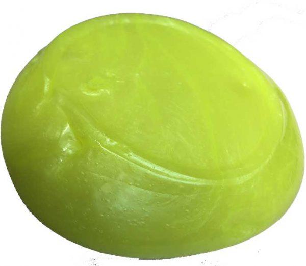 اسلایم متالیک زرد فسفری