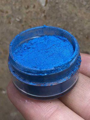 پودر متالیک آبی
